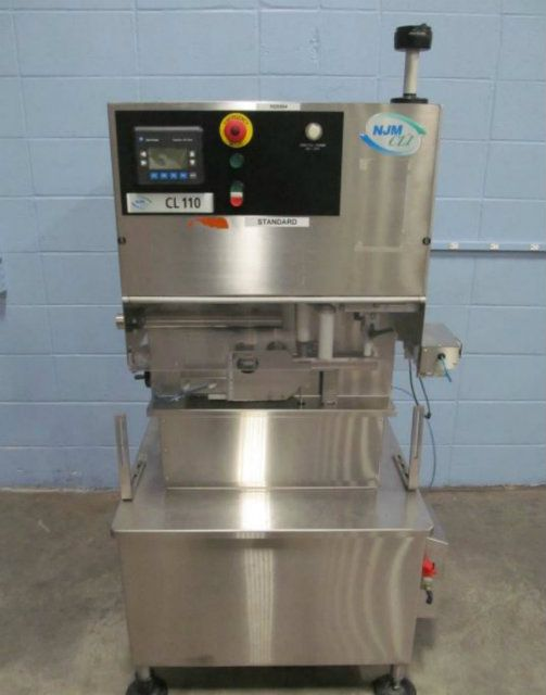NJM Packaging CL110 Automatic 2 Station Cottoner