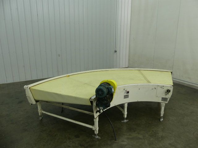 Portec 90 Degree Plastic Smooth Top Conveyor