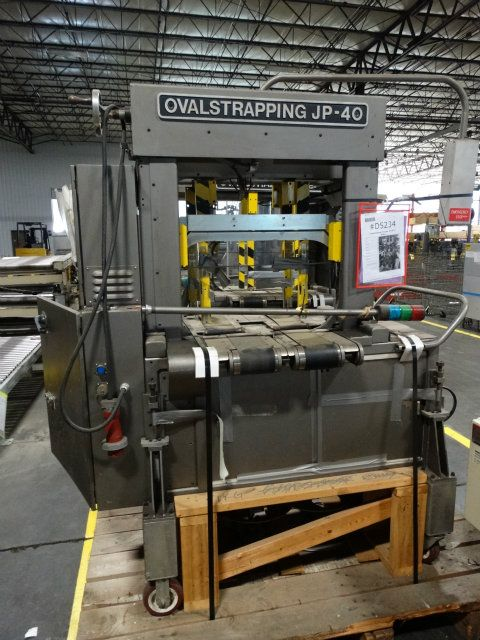Ovalstrapping JP-40 CT Case Strapper