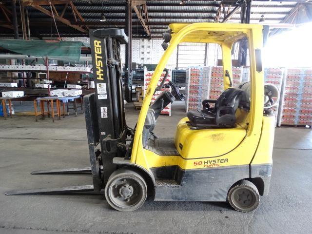 Hyster S50FT 4600 LB Natural Gas Forklift
