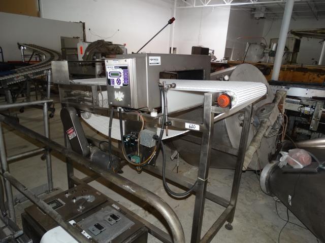 Fortress Phantom Metal Detector and conveyor