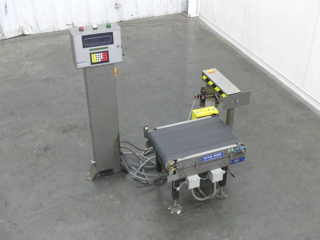 Mettler-Toledo Hi-Speed CS3400GI-MM Checkweigher