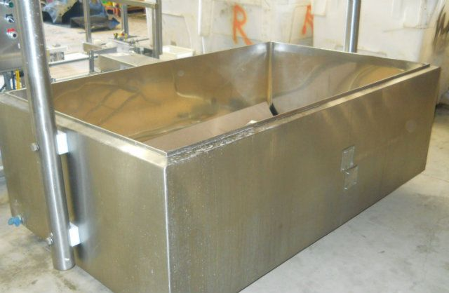 Jamesway 300 Gallon Stainless Steel Cheese Vat
