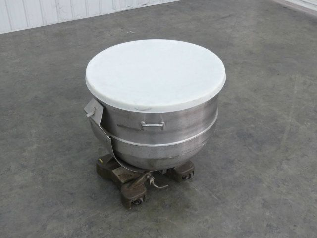 90 Gallon Stainless Steel Mixing Bowl