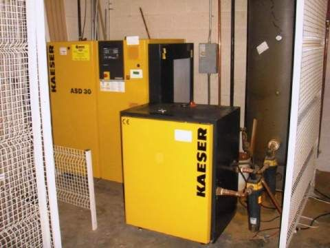 Kaeser Model ASD-30 Air Compressor