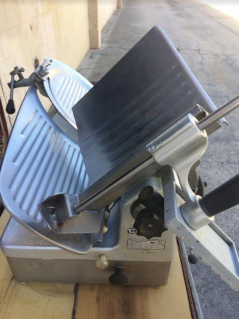 Hobart 1912 Semi Automatic Stainless Steel Slicer