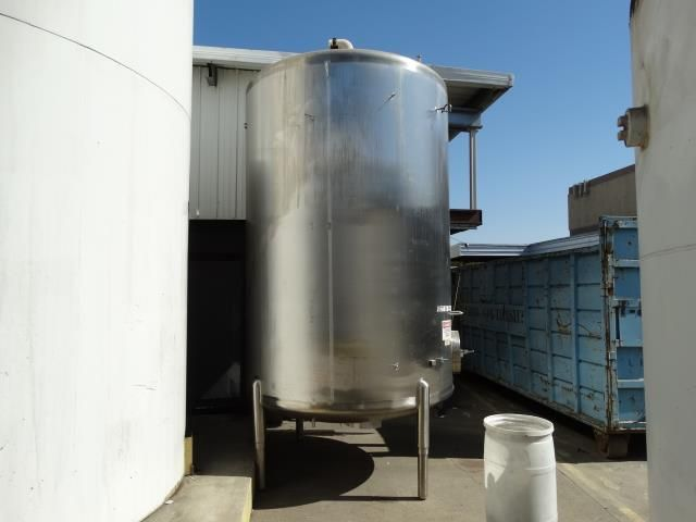 Cherry Burrell CV 3000 Gallon Single Wall Tank