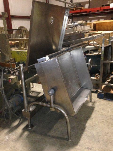 Used Sgl 40 T1 Cleveland Sgl40 T1 40 Gallon Tilting Skillet