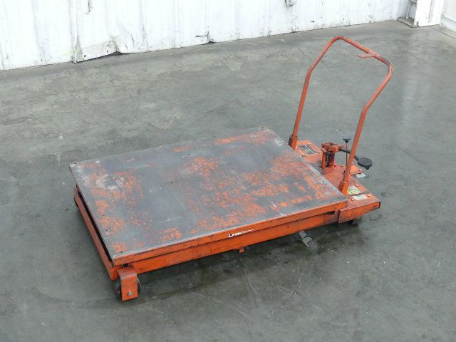 Dayton 47C18J Hydraulic Elevating Lift Cart