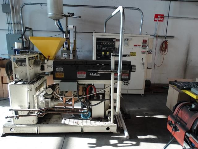 HPM 20 TMC 30 Single Screw Extruder