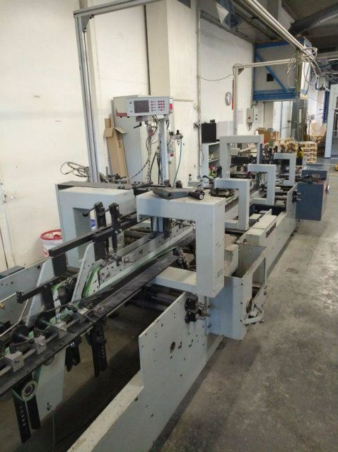 Bobst Domino 90 Matic Folder Gluer