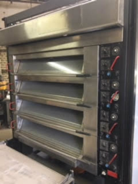 Bongard Omega 2 Electric Heated Bakery 4 Deck Oven