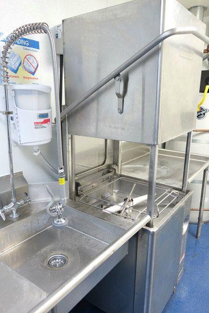 Used Hobart AM15 Single Rack Low Temperature Dishwasher