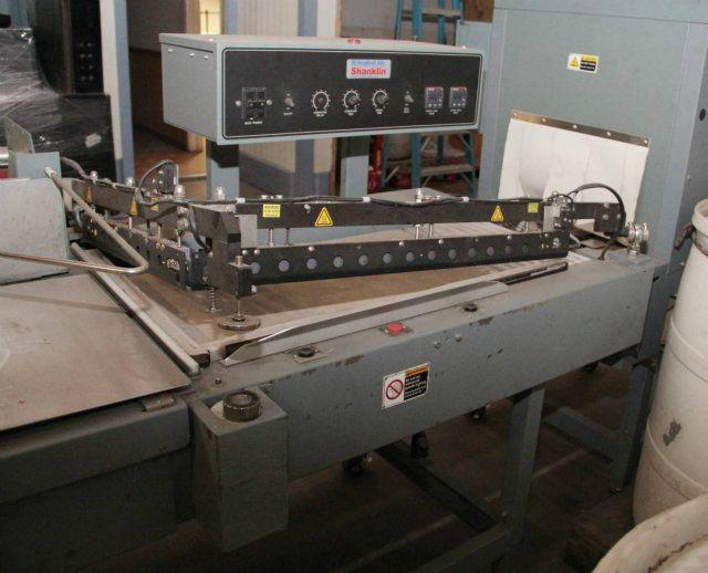 used s24bl t 6hcr shanklin s24bl l bar sealer w t 6hcr heat tunnel rh sigmaequipment com