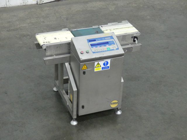 Loma Systems 6000 Series 7 Inch Wide Checkweigher