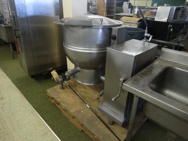 Used Groen Dee4t 40 40 Gallons Stainless Steel Kettle