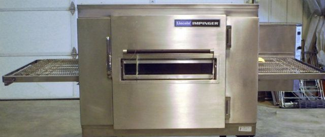 impinger glass pizza a conveyor electric d triple lincoln with ii window oven access stacked htm