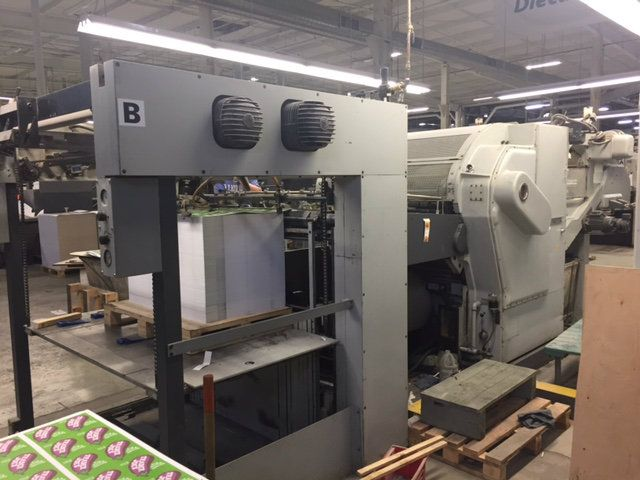 Bobst SP 1260-E Flat Bed Die Cutter