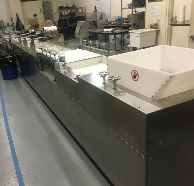 22 Foot Cereal Energy Granola Bar Forming Line