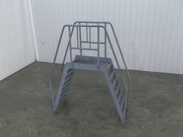 24 Inch Wide Conveyor Walk-Over Staircase
