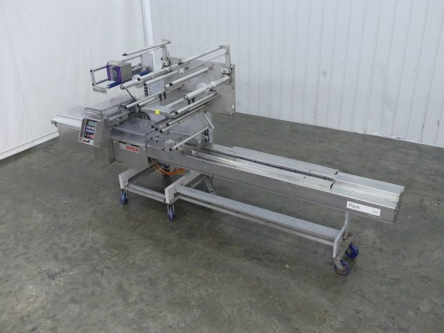 used bosch pack 201 servo stainless steel flow wrapper rh sigmaequipment com