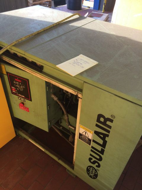 Sullair 40 Horsepower Rotary Screw Air Compressor