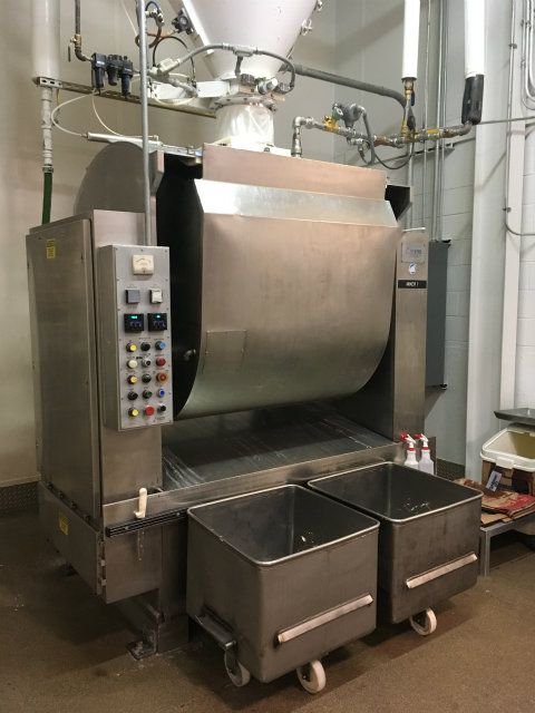 Used Hs 10 Shaffer Hs10 1000 Pound Triple Roller Bar Mixer