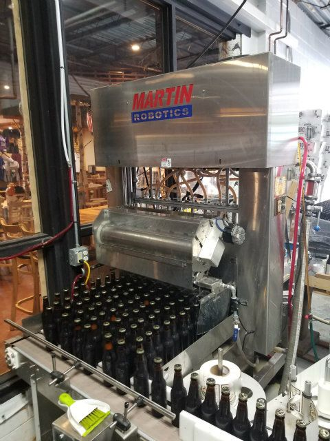 Martin Robotics Automatic Beer Bottling System