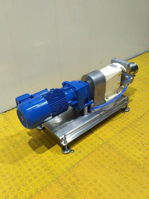 AlfaLaval SRU4 Jacketed Positive Displacement Pump