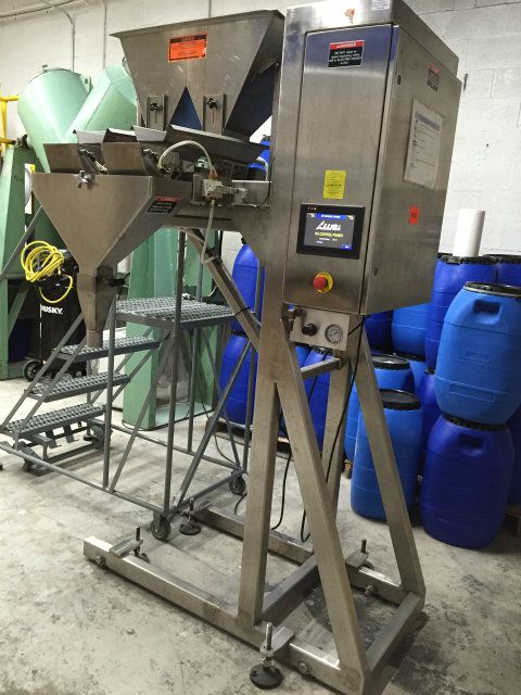All-Fill VF-200 Semi Automatic Net Weigh Filler