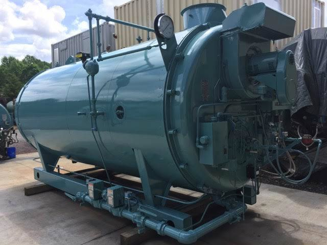 Cleaver Brooks 300HP Gas Oil 150 PSI Steam Boiler