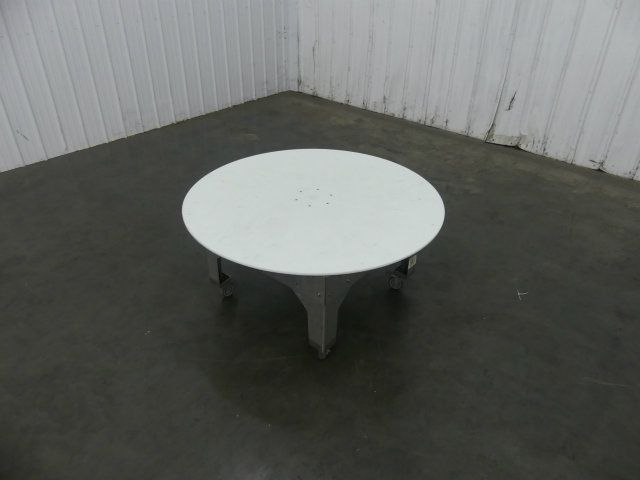 Groupe 60 Inch Wide Rotary Accumulation Table