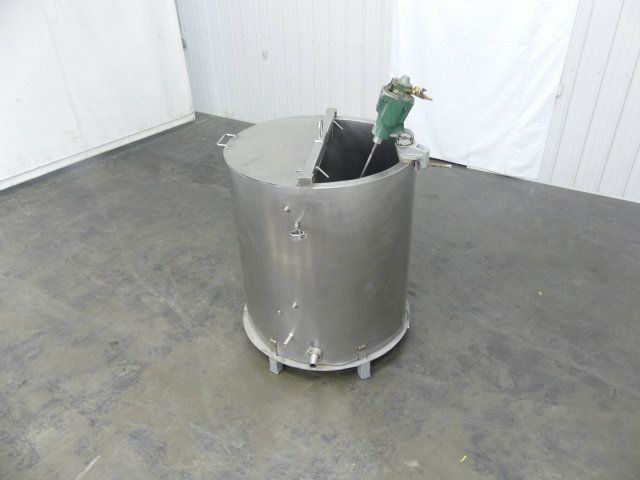 DCI 180 Gal Single Wall Stainless Steel Mix Tank