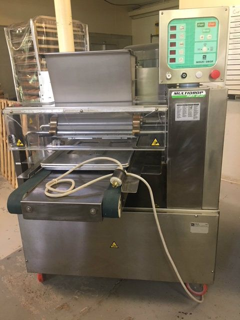 Polin CE-46-MTR-FCC II Multidrop Cookie Depositor