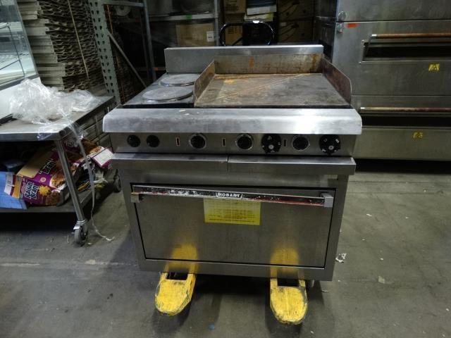 Hobart Commercial Range Oven and Griddle
