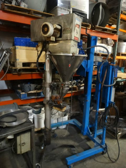 Hauser Machinery AF90 Stainless Steel Auger Filler