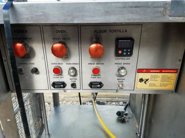 used besco beta 900 stainless steel flour oven