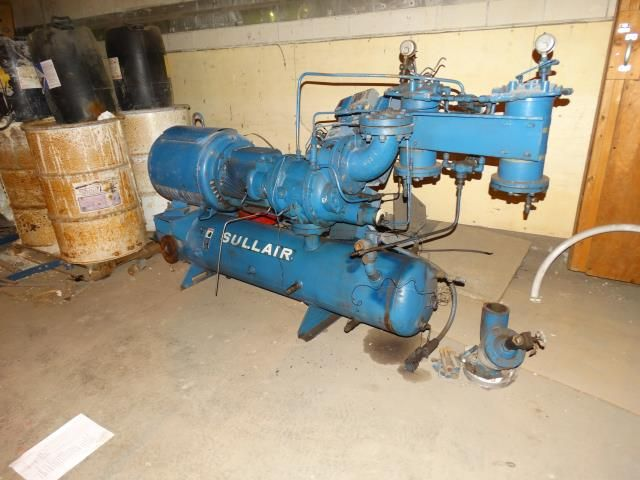 Sullair Corp CB12LA 100 HP Air Compressor