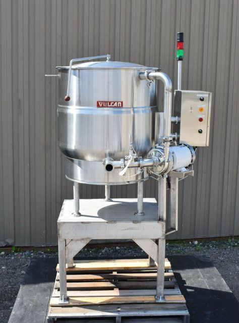 Vulcan 60 Gallon SS Jacketed  Electric Kettle