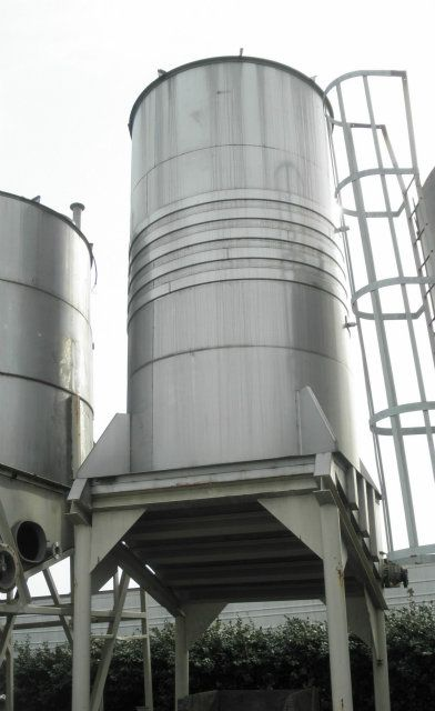 7500 Gallon Stainless Steel Jacketed Tank