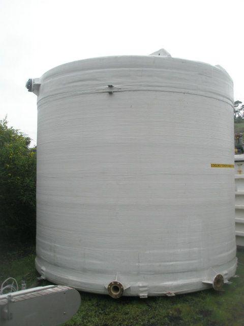 Used Fiberglass Reps 9300 Gallon Fiberglass Tank