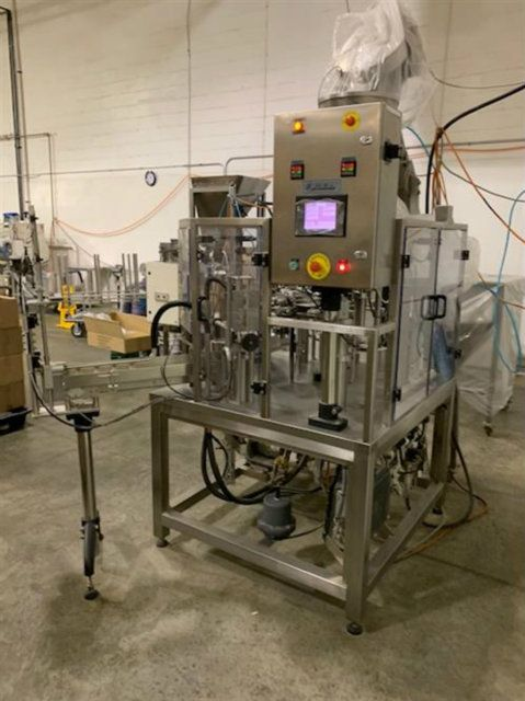 PackLine PDP2M Rotary Pre Made Pouch Fill and Seal