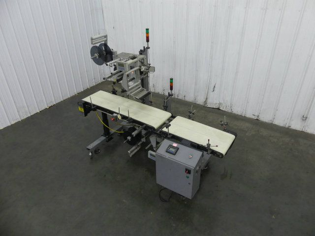 Label-Aire Large Format Top and Bottom Labeler