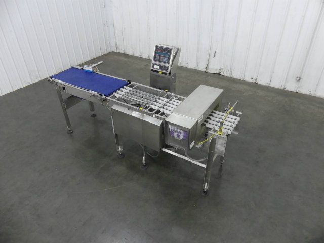 Ramsey Fortress Combo Checkweigher Metal Detector