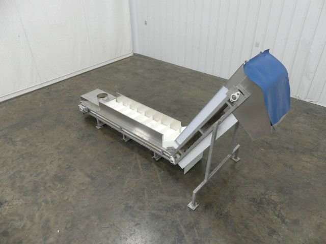 American Cleated Incline Conveyor 16