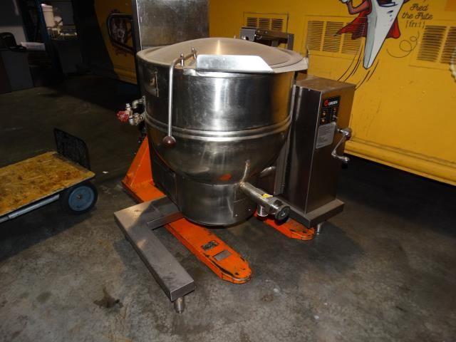 Used Groen T1 40 40 Gallon Stainless Steel Kettle