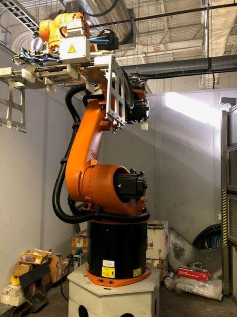 Used KUKA Robotics KR 60-3 6 Axis Robotic Arm