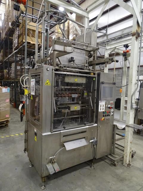 WA Lane L 12 Vertical Form Fill Seal Pouch Machine