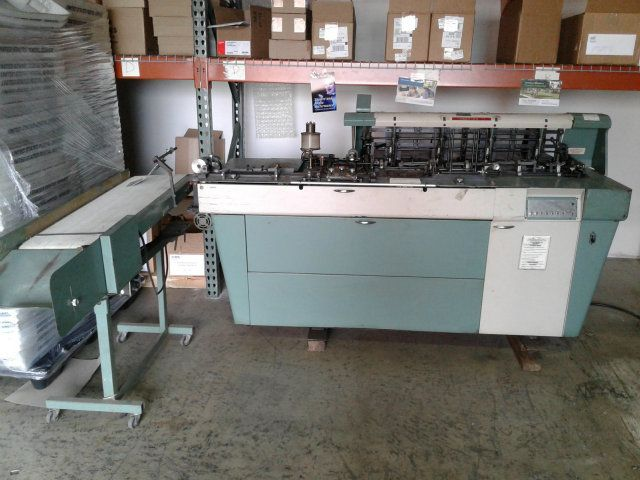 Used Bell & Howell A340 C4 Inserting Sealing Machine