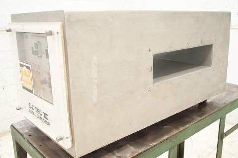 Eriez Stainless Steel Metal Detector Model EZ-Tec3
